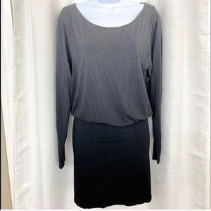 M.Rena Ombré Fine Knit Sweater Dress One Size